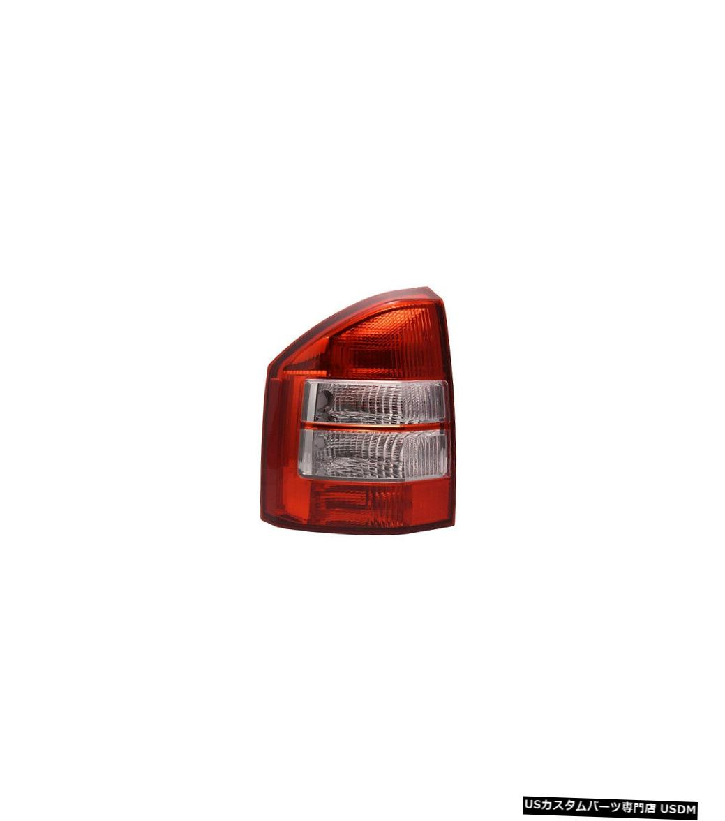 Tail light 07-10 Jeepコンパスドライバー用テールライトリアバックランプ Tail Light Rear Back Lamp for 07-10 Jeep Compass Driver Left