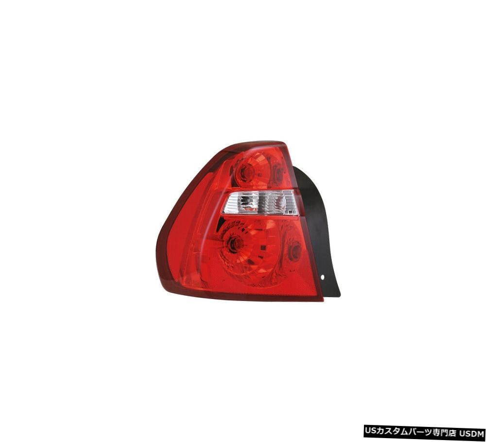 Tail light 04-08シェビーマリブドライバー左用テールライトリアバックランプ Tail Light Rear Back Lamp for 04-08 Chevy Malibu Driver Left