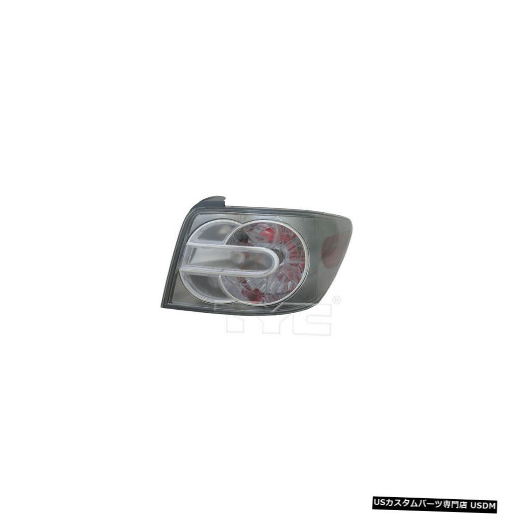 人気ブラドン Tail Light light Lamp 07-09マツダCX-7用テールライトリアランプ右の乗客 Tail Light Rear Lamp Right Mazda Passenger for 07-09 Mazda CX-7, 大分トナー工場:a60a62b3 --- dibranet.com