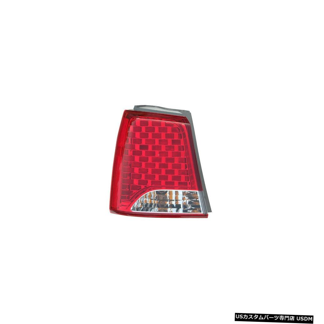 11-13 Lamp 11-13 EX/LX Sorento Tail Kia Sorento for Tail Back LXドライバー左用テールライトリアバックランプ light Kia Left Light / Driver Rear EX
