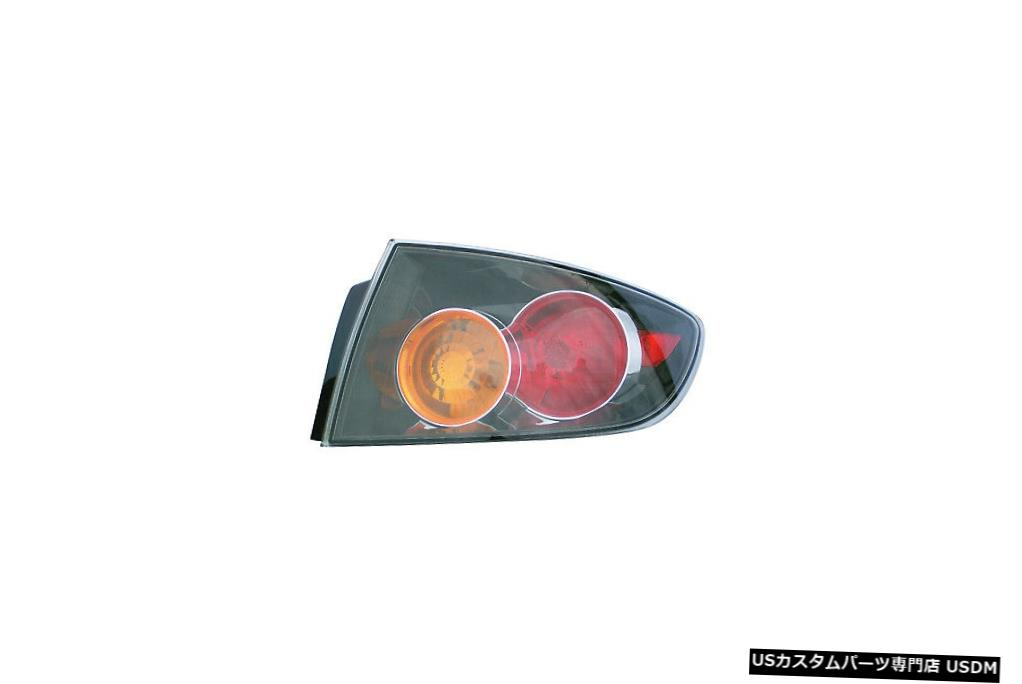 Tail light 04-06マツダ3(スポーツ)助手席用テールライトリアバックランプ Tail Light Rear Back Lamp for 04-06 Mazda 3 (Sport) Passenger Right