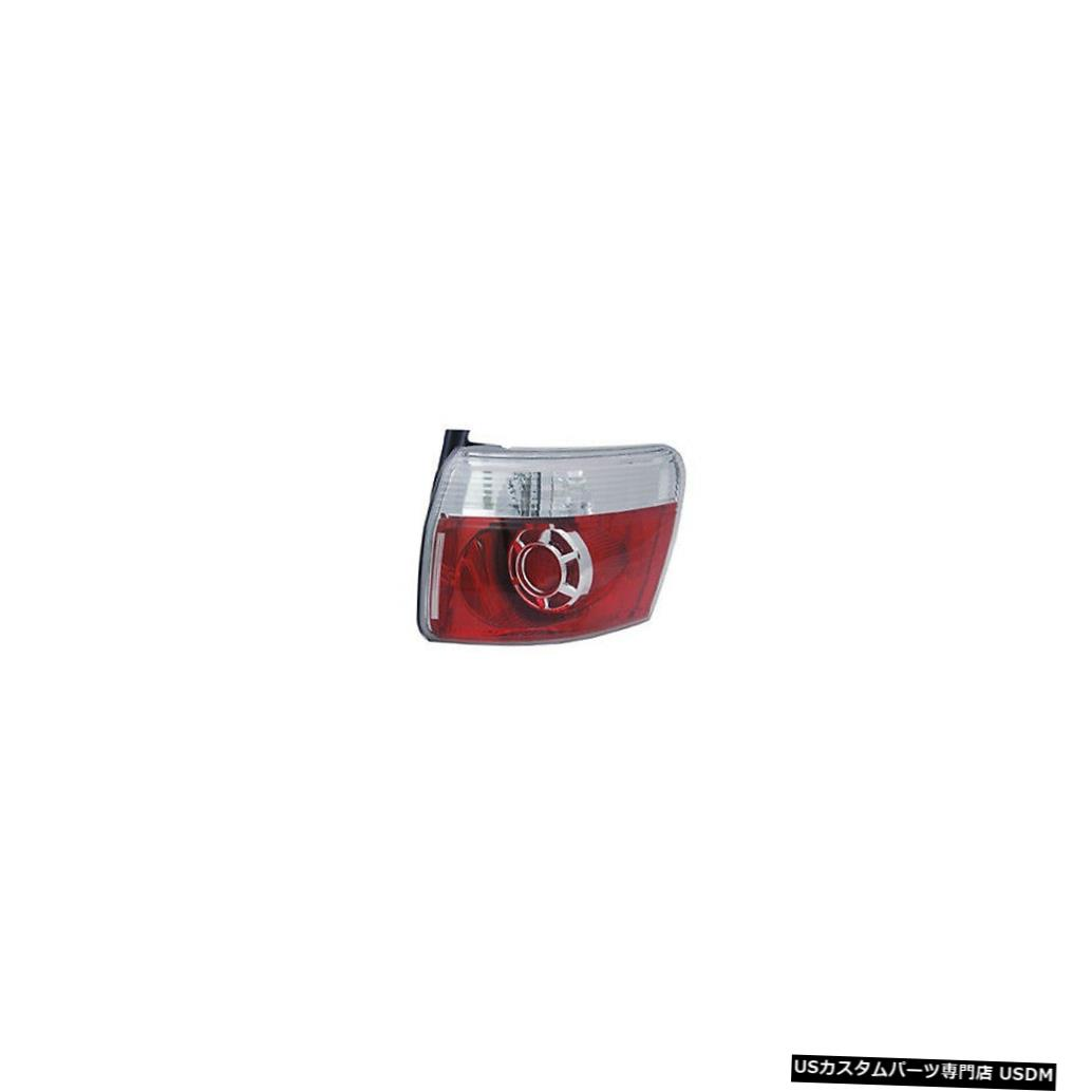 Tail light 07-13 GMCアカディア用アウタークォーターテールライトリアランプ右の乗客 Outer Quarter Tail Light Rear Lamp Right Passenger for 07-13 GMC Acadia