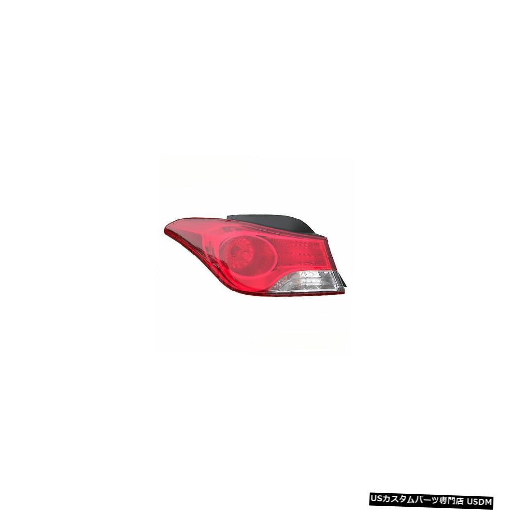 Tail light 11-13ヒュンダイエラントラセダンドライバー用テールライトリアバックランプ Tail Light Rear Back Lamp for 11-13 Hyundai Elantra Sedan Driver Left