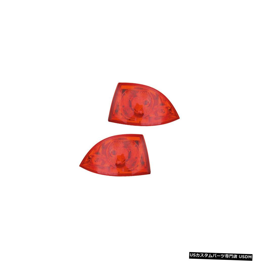 Tail light Tail Lights Rear Back Lamps Pair Set for 06-10 Buick Lucerne Left & Right