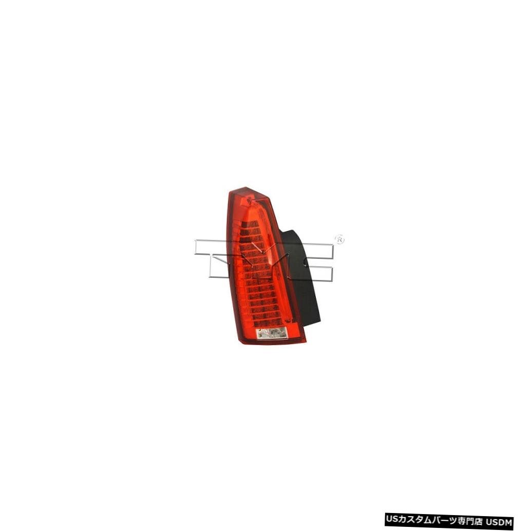 Tail light 08-14キャデラックCTS / CTS-V(10-11レッドレンズ)のテールライトランプ左ドライバー Tail Light Lamp Left Driver for 08-14 Cadillac CTS/CTS-V (10-11 Red Lens)