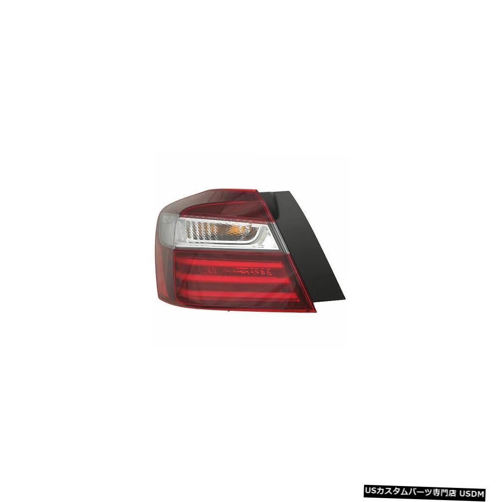 Tail light 16-17ホンダアコードセダンドライバー左用テールライトリアバックランプ Tail Light Rear Back Lamp for 16-17 Honda Accord Sedan Driver Left