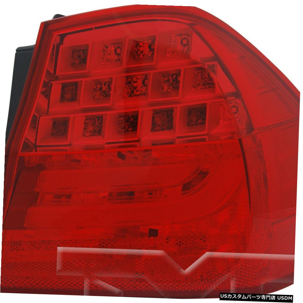 Tail light 09-11 BMW 3シリーズセダンE90のアウタークォーターテールライトランプ右の乗客 Outer Quarter Tail Light Lamp Right Passenger for 09-11 BMW 3 Series Sedan E90