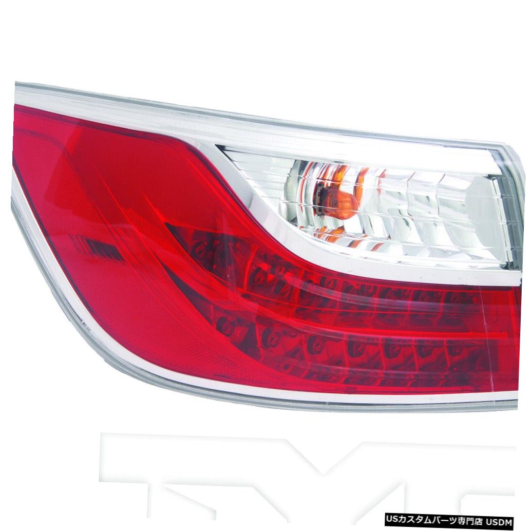 Tail light 10-12マツダCX-9用アウタークォーターテールライトリアランプ右乗客 Outer Quarter Tail Light Rear Lamp Right Passenger for 10-12 Mazda CX-9