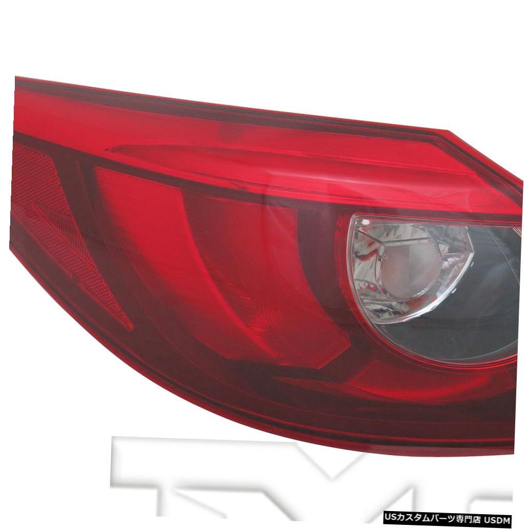 Tail light 16-16マツダCX-5用アウタークォーターLEDテールライトリアランプ左ドライバー Outer Quarter LED Tail Light Rear Lamp Left Driver for 16-16 Mazda CX-5