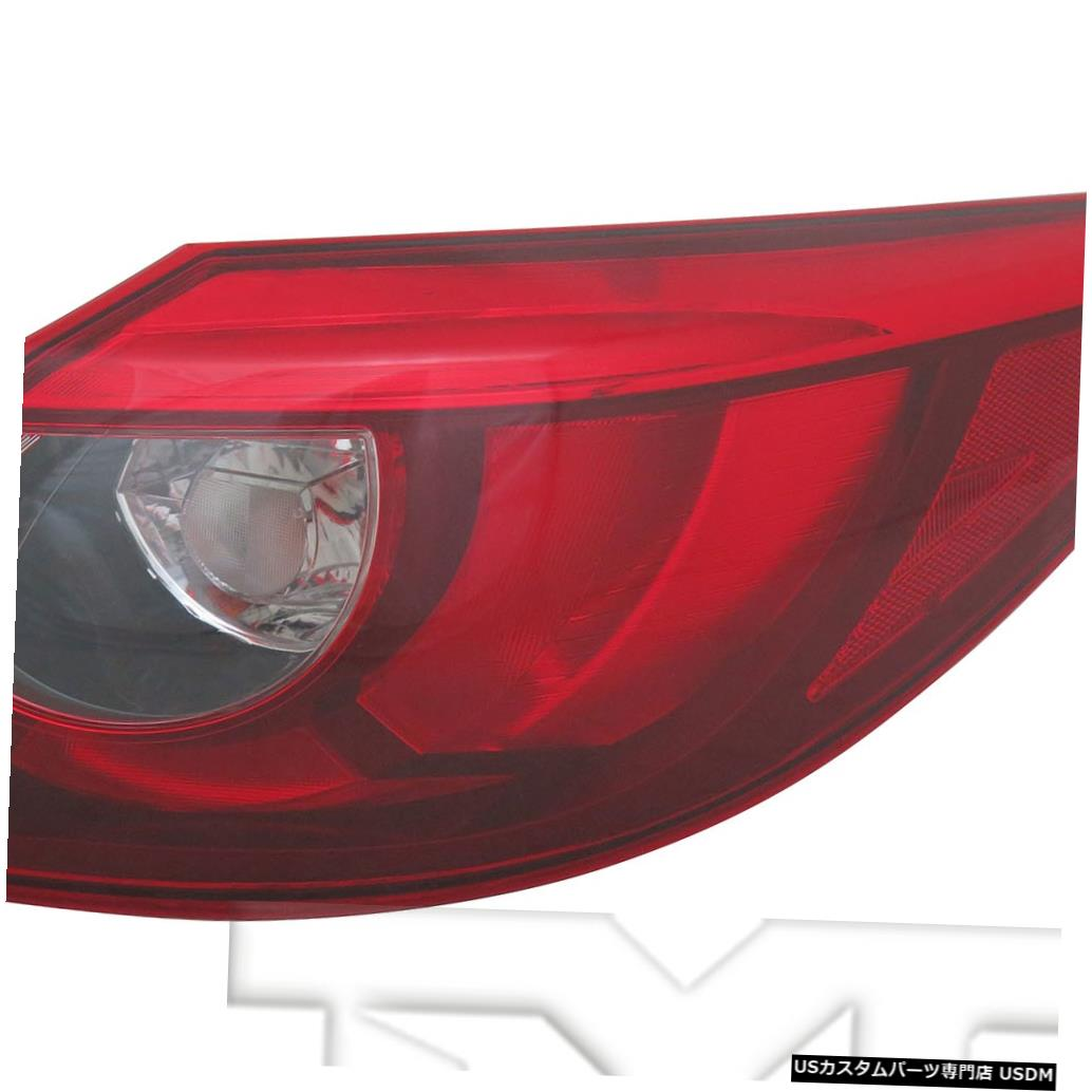 Tail light 16-16マツダCX-5用アウタークォーターLEDテールライトリアランプ右乗客 Outer Quarter LED Tail Light Rear Lamp Right Passenger for 16-16 Mazda CX-5