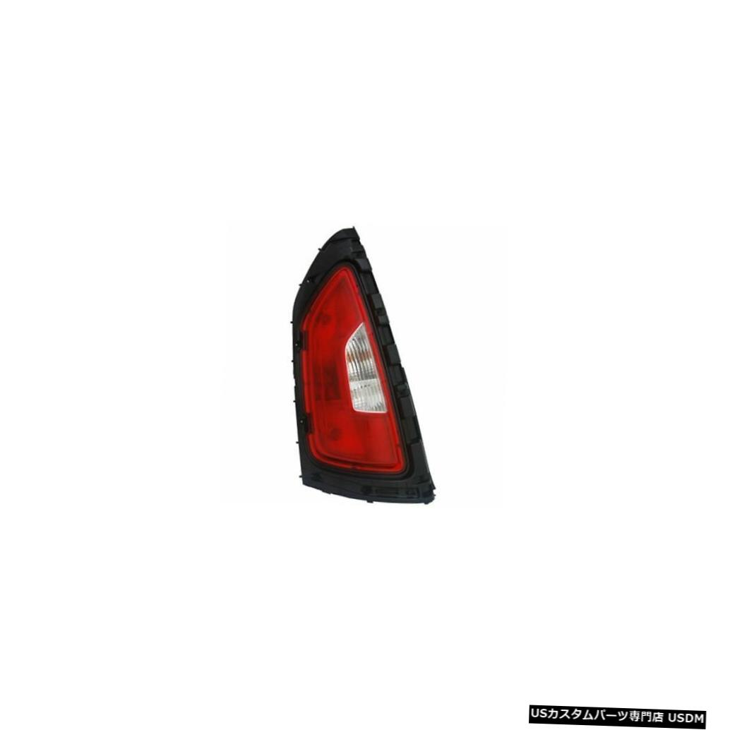 Tail light 12-13 Kia Soul(クリア)CAPA用テールライトリアランプ左ドライバー Tail Light Rear Lamp Left Driver for 12-13 Kia Soul (Clear) CAPA
