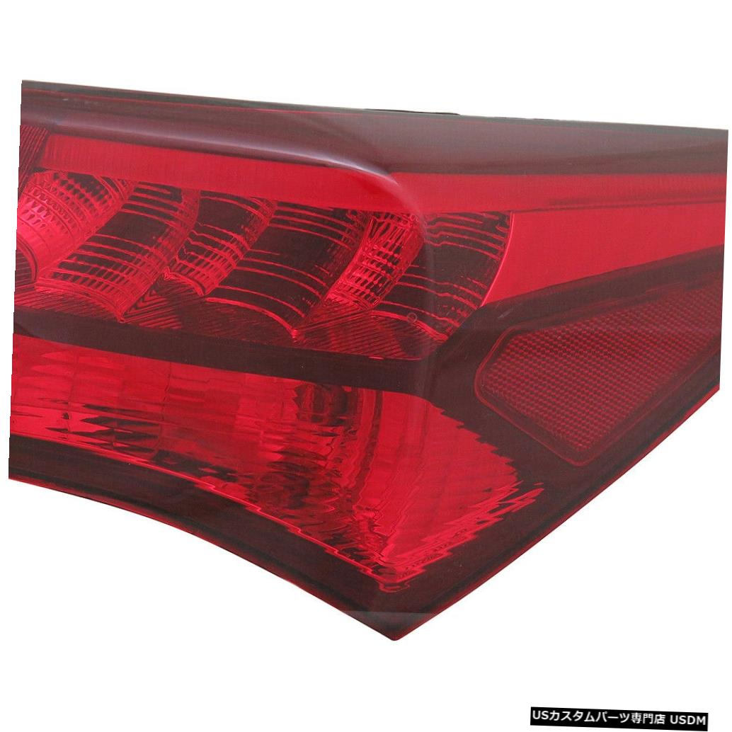 Tail light 15-17 Acura TLXのアウタークォーターテールライトリアランプ右の乗客 Outer Quarter Tail Light Rear Lamp Right Passenger for 15-17 Acura TLX