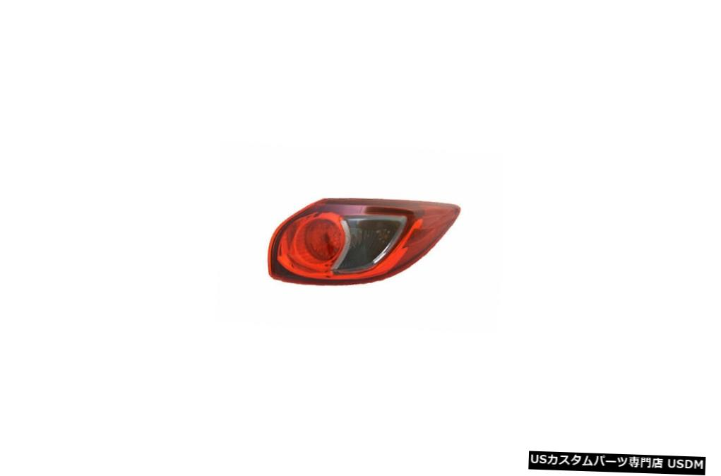 Tail light 13-16マツダCX-5用アウタークォーターテールライトリアランプ右乗客 Outer Quarter Tail Light Rear Lamp Right Passenger for 13-16 Mazda CX-5