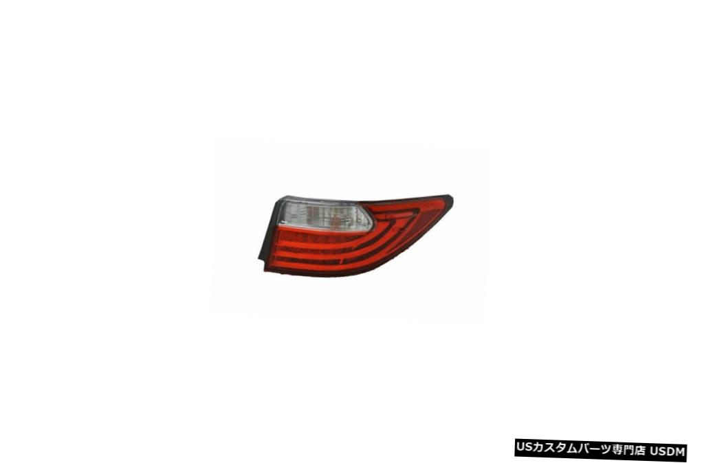 Tail light 13-15レクサスES350のアウタークォーターテールライトリアランプ右の乗客 Outer Quarter Tail Light Rear Lamp Right Passenger for 13-15 Lexus ES350