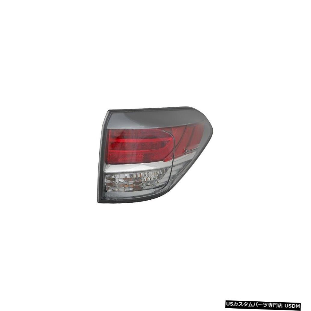 Tail light 13-15レクサスRX350(カナダ製)乗客右用テールライトリアバックランプ Tail Light Rear Back Lamp for 13-15 Lexus RX350 (Canada Built) Passenger Right