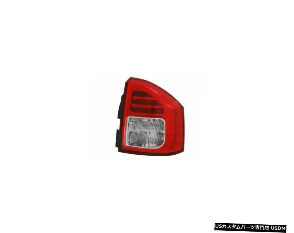Tail light 11-13ジープコンパス用テールライトリアランプ右の乗客 Tail Light Rear Lamp Right Passenger for 11-13 Jeep Compass
