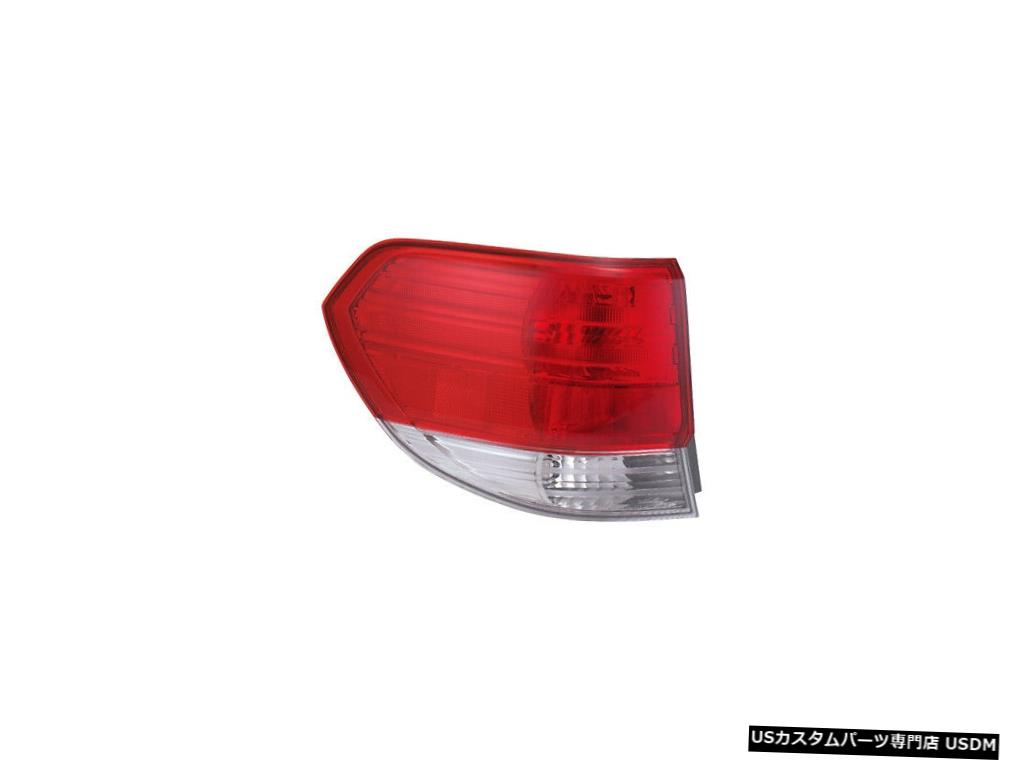 Tail light テールライトリアバックランプ08-10ホンダオデッセイドライバー左用 Tail Light Rear Back Lamp for 08-10 Honda Odyssey Driver Left