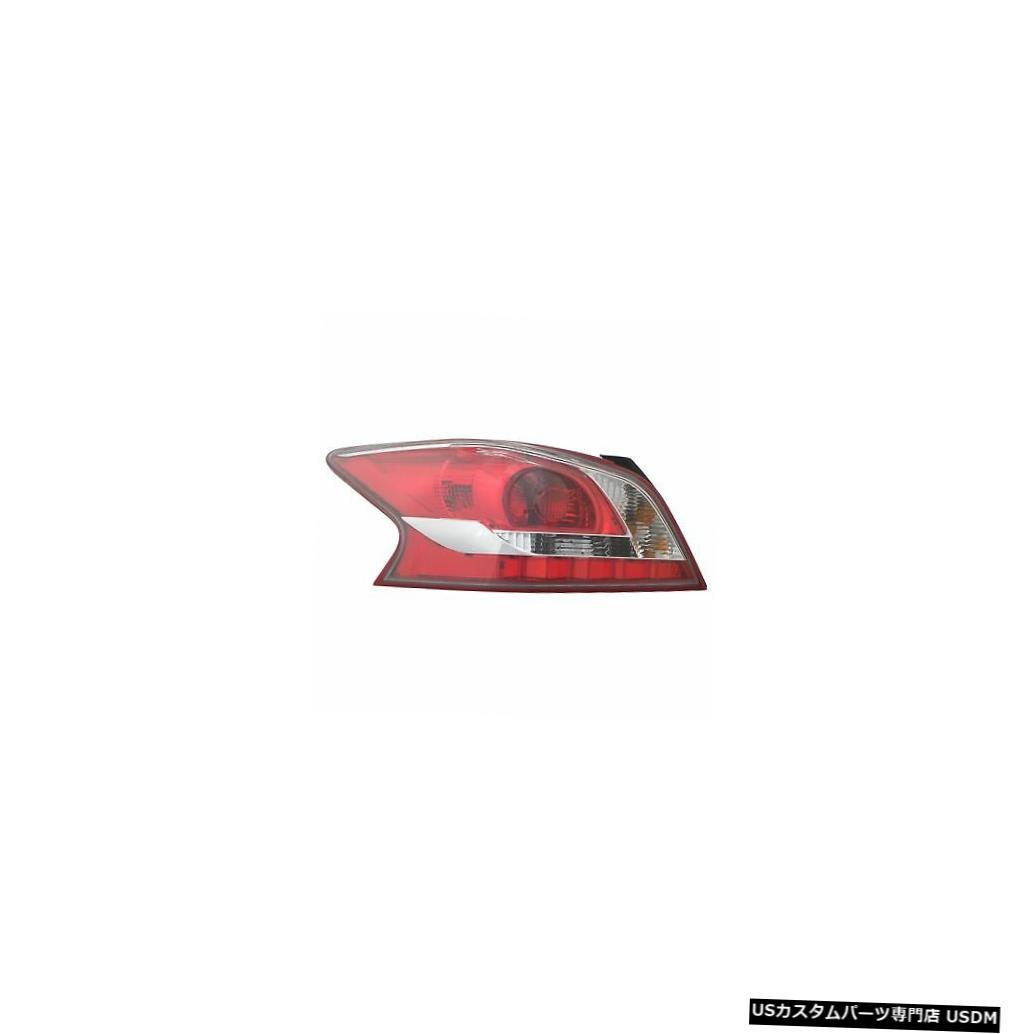 Tail light 13-13日産アルティマセダンドライバー左用テールライトリアバックランプ Tail Light Rear Back Lamp for 13-13 Nissan Altima Sedan Driver Left