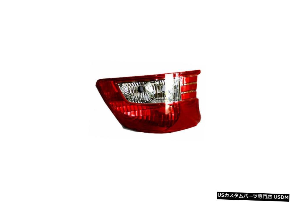 Tail light 07-12トヨタヤリスセダン用テールライトリアランプ左ドライバー(非スポーツ) Tail Light Rear Lamp Left Driver for 07-12 Toyota Yaris Sedan (Non-Sport)