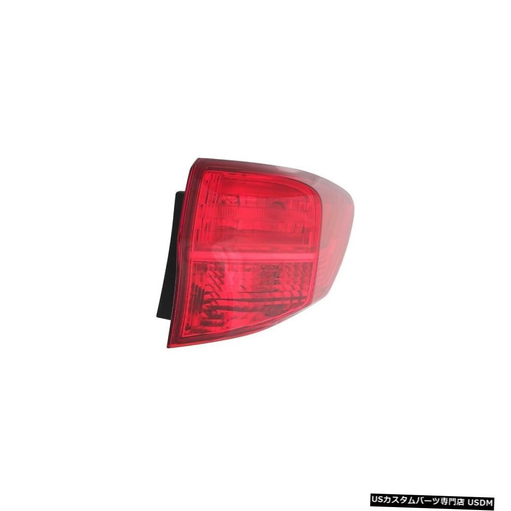 Tail light 13-15アキュラRDX乗客右用テールライトリアバックランプ Tail Light Rear Back Lamp for 13-15 Acura RDX Passenger Right