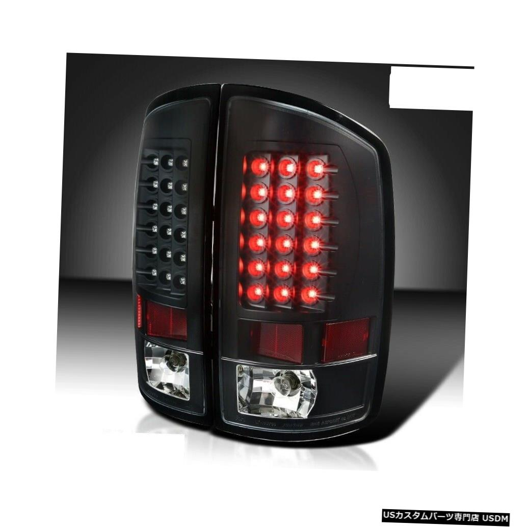Tail light ホリデーランブラーアンバサダー2008 2009 2010ペアブラックLEDテールライトテールライト HOLIDAY RAMBLER AMBASSADOR 2008 2009 2010 PAIR BLACK LED TAIL LIGHTS TAILLIGHTS
