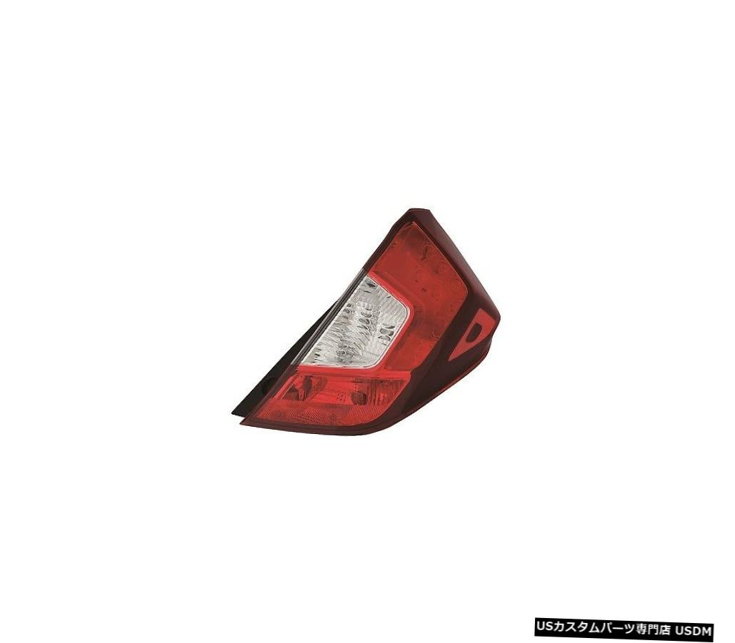 Tail light ホンダフィット2015-2019ライトパッセンジャーテールライトテールライトテールランプバルブ付 FITS HONDA FIT 2015-2019 RIGHT PASSENGER TAILLIGHT TAIL LIGHT REAR LAMP W/BULBS