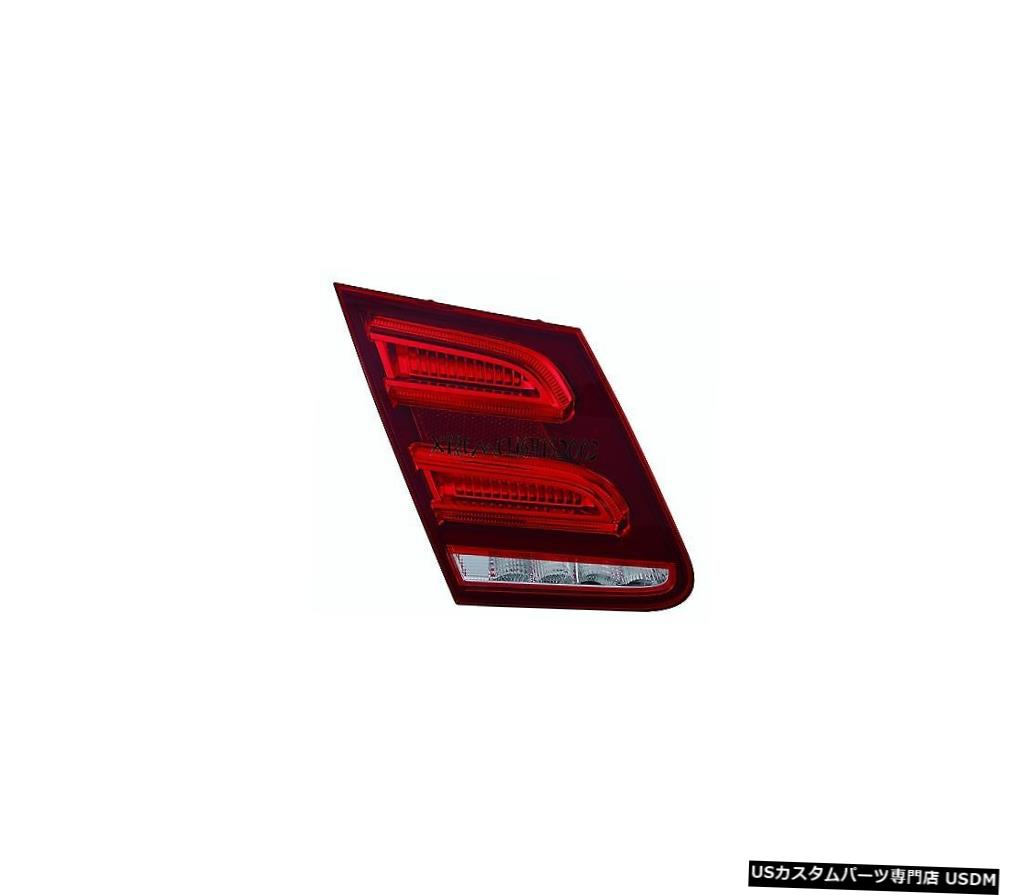 Tail light フィットメルセデスベンツEクラス2014左ドライバーインナーテールライトテールライトトランク蓋 FITS MERCEDES BENZ E CLASS 2014 LEFT DRIVER INNER TAIL LIGHT TAILLIGHT TRUNK LID