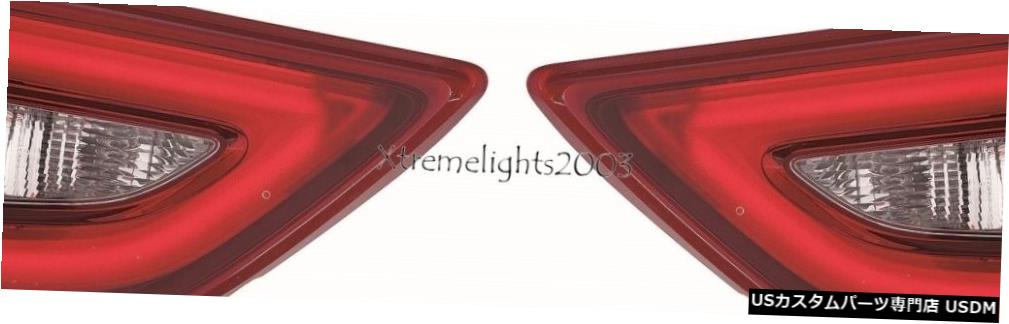 Tail light FITS日産マキシマ2016-2018インナーテールライトテールライトリアランプトランクペア FITS NISSAN MAXIMA 2016-2018 INNER TAILLIGHTS TAIL LIGHTS REAR LAMP TRUNK PAIR