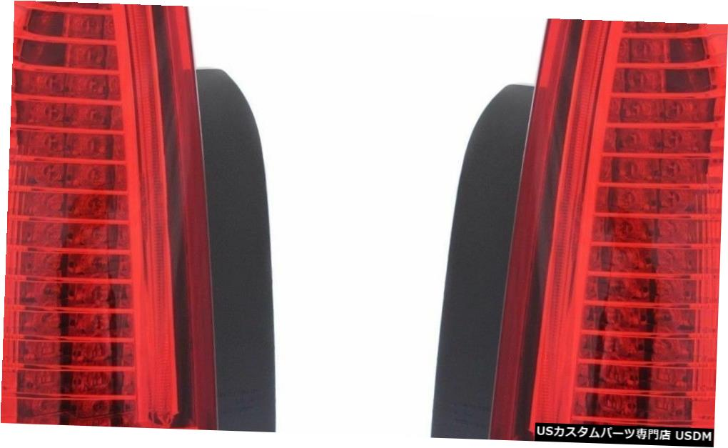 REAR TAILLIGHTS 2008 CTS LAMPS RIGHT PAIR CTS-V TAIL light キャデラックCTS 2008 LIGHTS Tail CADILLAC 2009ペア右テールテールライトリアランプライト CTS-V LEFT 2009