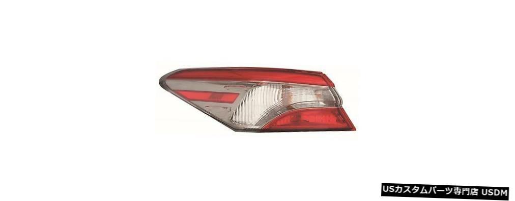 Tail light FIT TOYOTA CAMRY 2018 SE左ドライバーアウターテールライトリアランプテールライト FITS TOYOTA CAMRY 2018 SE LEFT DRIVER OUTER TAIL LIGHT REAR LAMP TAILLIGHT