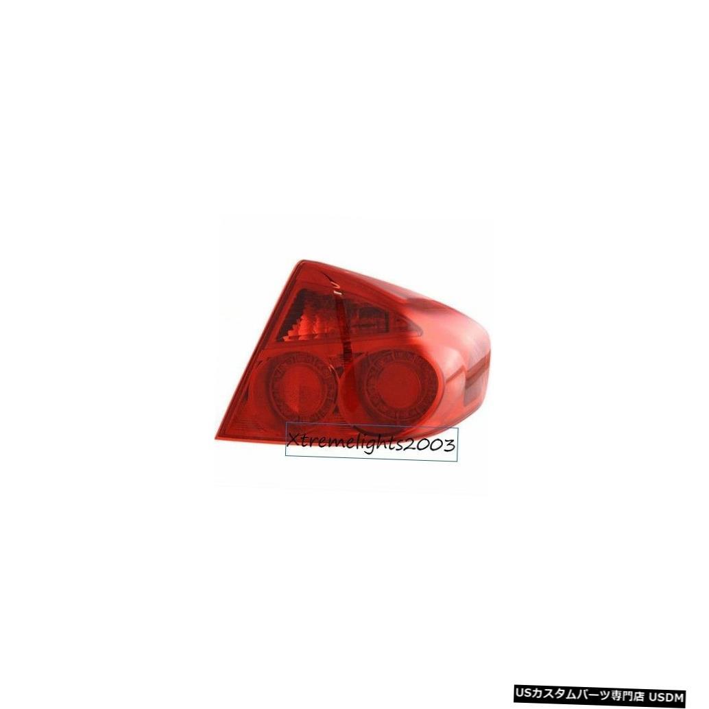 Tail light インフィニティG35セダン2005-2006に適合ライトテールライトリアランプテールライト FITS FOR INFINITI G35 SEDAN 2005-2006 RIGHT TAIL LIGHT REAR LAMP TAILLIGHT