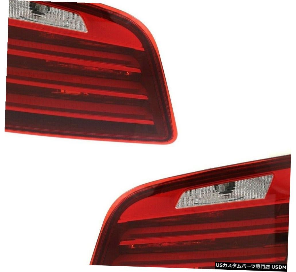 Tail light フィットBMW 5シリーズF10 528i 535i 550i 2014-2016リアインナーテールライトペア FIT BMW 5 SERIES F10 528i 535i 550i 2014-2016 REAR INNER TAILLIGHTS PAIR