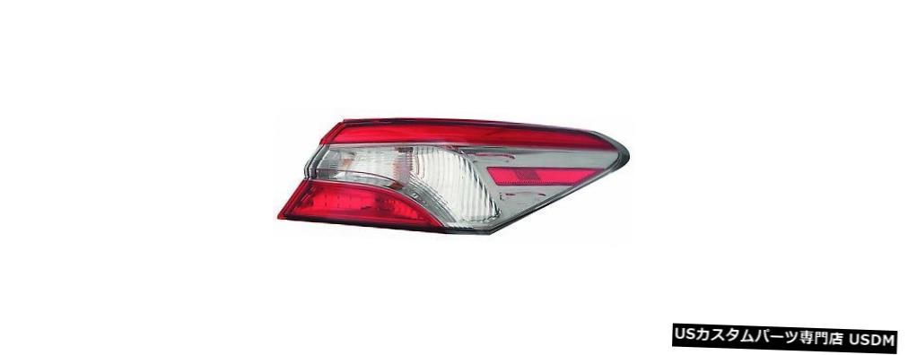 Tail light FIT TOYOTA CAMRY 2018 SE RIGHT PASSENGER OUTER TAIL LIGHT REAR LAMP TAILLIGHT FITS TOYOTA CAMRY 2018 SE RIGHT PASSENGER OUTER TAIL LIGHT REAR LAMP TAILLIGHT