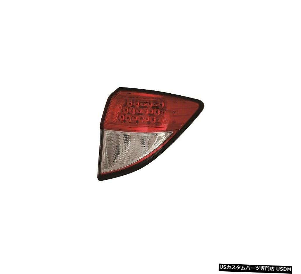 Tail light ホンダHRV HR-V 2019右パッセンジャーアウターテールライトテールライトリアランプ FITS HONDA HRV HR-V 2019 RIGHT PASSENGER OUTER TAILLIGHT TAIL LIGHT REAR LAMP