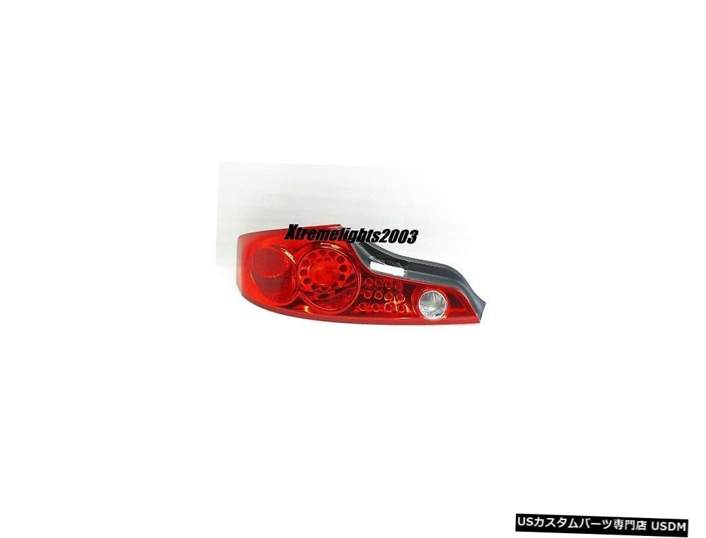 Tail light フィットインフィニティG35クーペ2003-2005左ドライバーテールライトテールライトリアランプ FITS INFINITI G35 COUPE 2003-2005 LEFT DRIVER TAILLIGHT TAIL LIGHT REAR LAMP