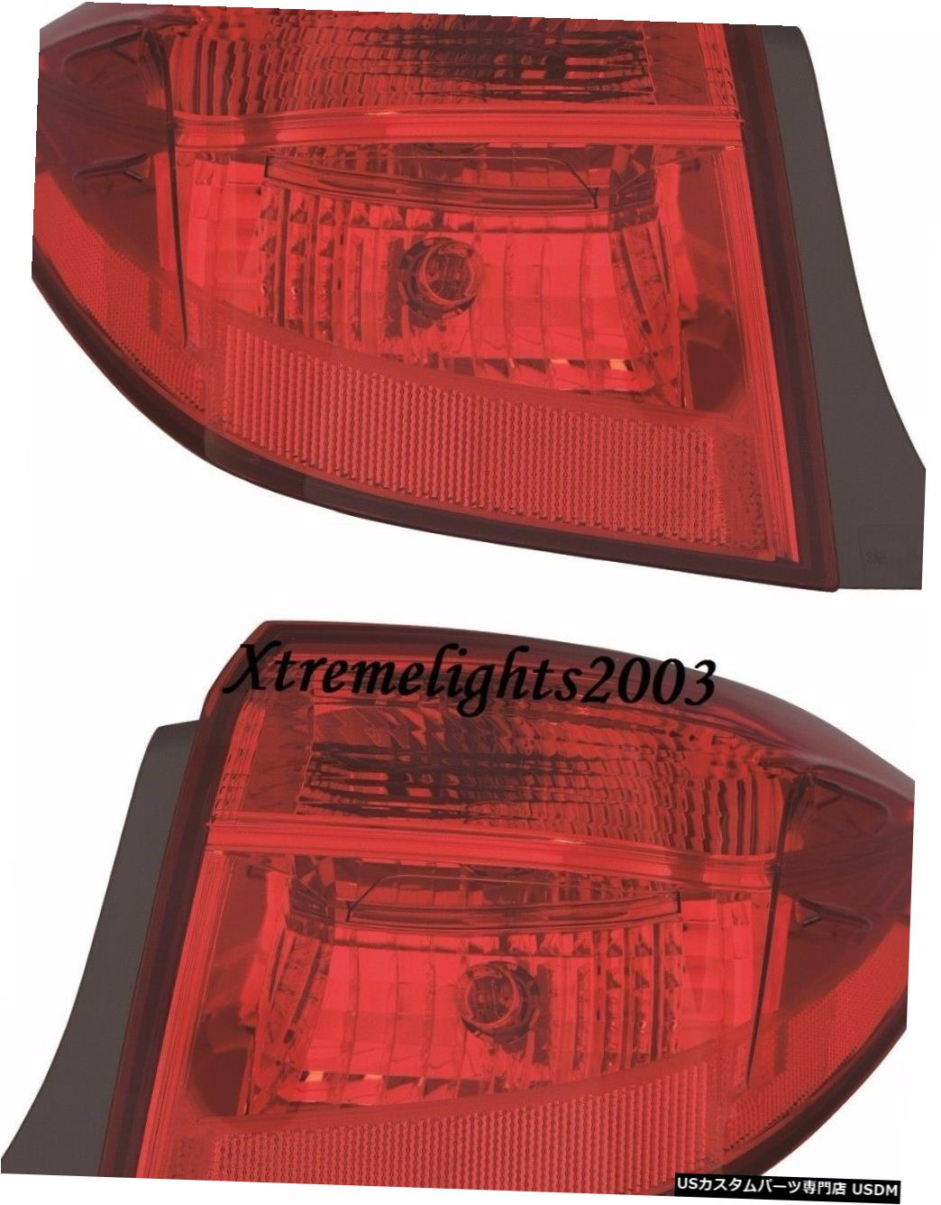 Tail light TOYOTA COROLLA 2017 SE XLE OUTER TAILLIGHTS REAR LAMPS TAIL LIGHTS PAIR SET TOYOTA COROLLA 2017 SE XLE OUTER TAILLIGHTS REAR LAMPS TAIL LIGHTS PAIR SET