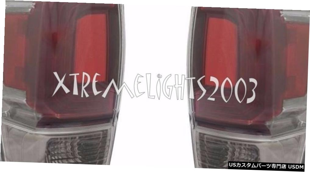 Tail light TOYOTA TACOMA 2016 LIMITED CLEAR TAILLIGHTS TAIL LIGHTS REAR LAMPS PAIR SET TOYOTA TACOMA 2016 LIMITED CLEAR TAILLIGHTS TAIL LIGHTS REAR LAMPS PAIR SET