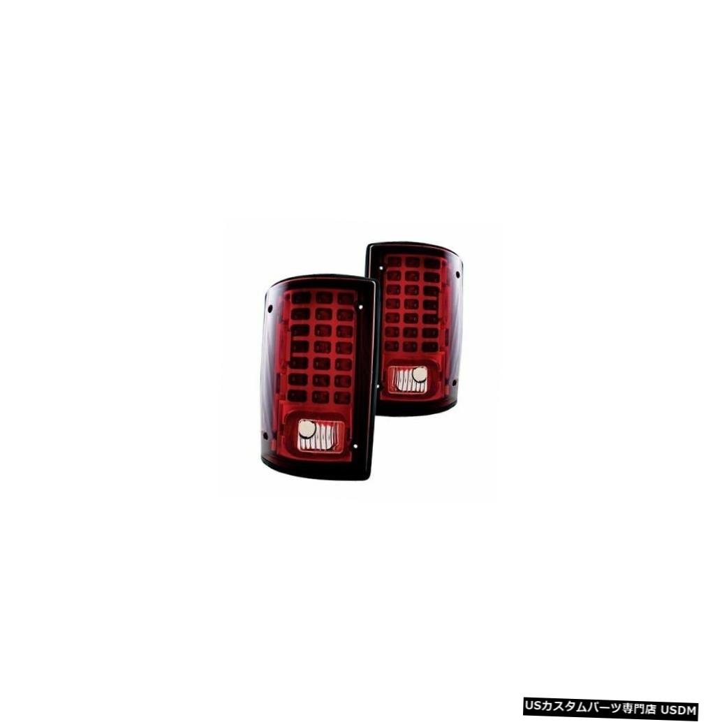TAILLIGHT RV light LIGHT REAR PAIR Tail 2005赤色LEDテールライトテールライトリアランプRVペア LED AMERICAN AMERICAN CLIPPER CLIPPER RED LAMPS 2005 TAIL REXHALL REXHALL