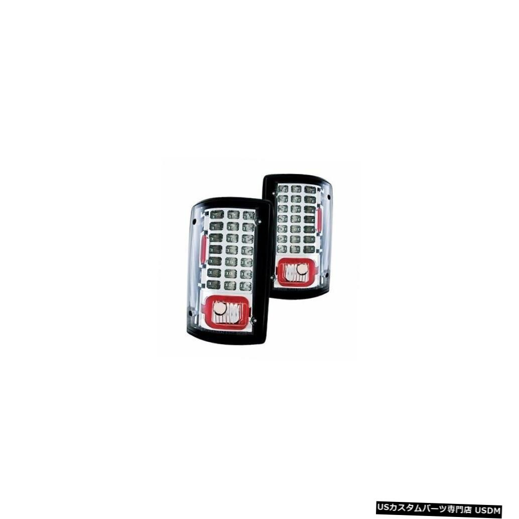 PAIR light LIGHT 2003 NATIONAL TROPICAL 2004クロームLEDテールライトテールライトリアランプペア LED REAR TROPICAL 2003 CHROME Tail 2004 TAIL TAILLIGHT RV RV NATIONAL LAMPS