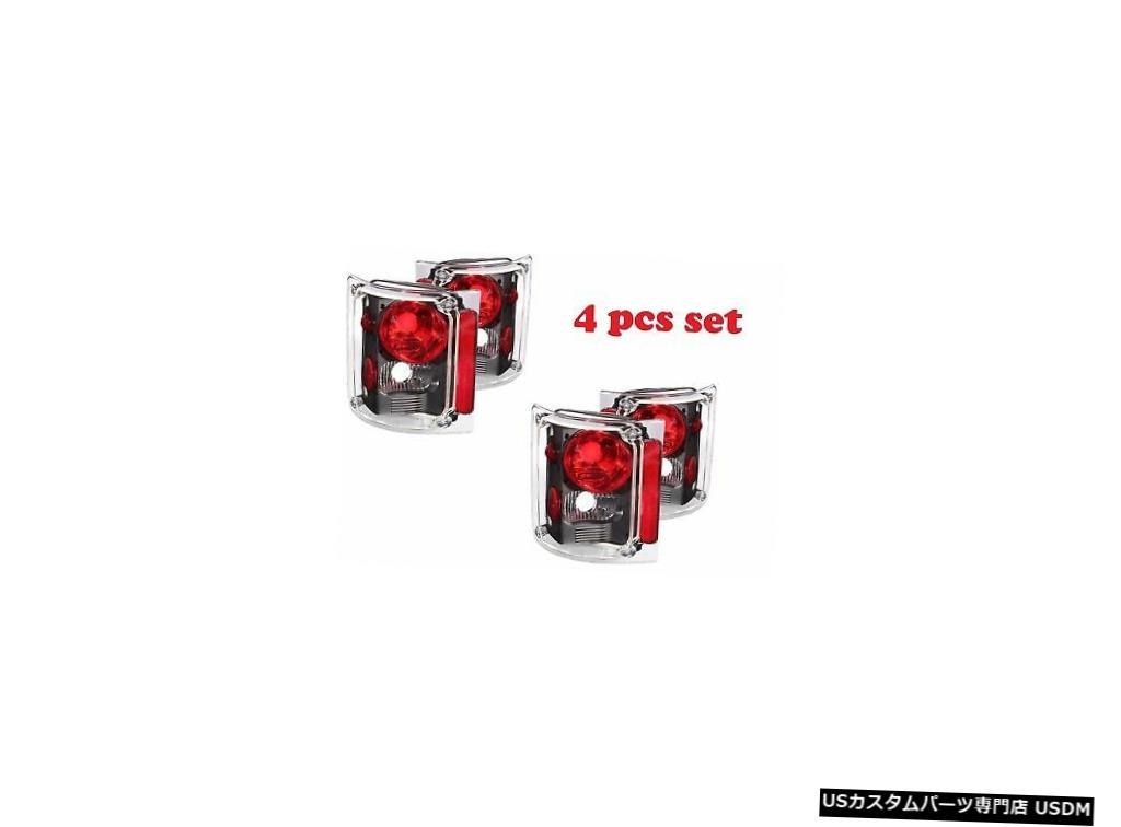 車用品 バイク用品 >> パーツ 特売 ライト ランプ ブレーキ テールランプ 安い 激安 プチプラ 高品質 Tail light HOLIDAY RAMBLER ENDEAVOR LIGHTS BLACK 4PC LAMPS 1998 SET 1999 TAIL TAILLIGHTS RV