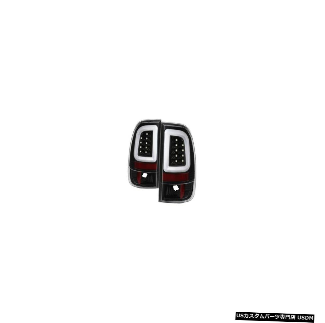Tail light スパイダー5084231ライトバーLEDテールライトブラック04-04フォードF-150ヘリテージ用NEW Spyder 5084231 Light Bar LED Tail Lights Black For 04-04 Ford F-150 Heritage NEW