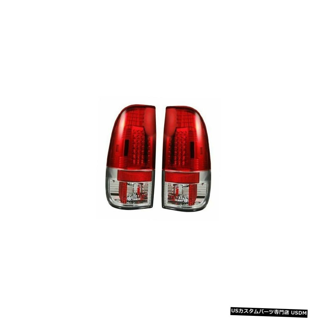 Tail light Recon 264176RD LEDテールライトキット2008-2016 Ford F250 F350 F450の赤いレンズ Recon 264176RD LED Tail Light Kit Red Lens for 2008-2016 Ford F250 F350 F450