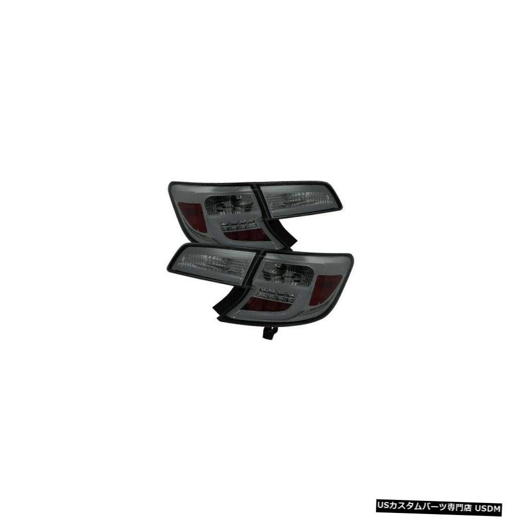 Tail light スパイダー5079435ライトバーLEDテールライト2012-2014トヨタカムリブラック Spyder 5079435 Light Bar LED Tail Lights Black For 2012-2014 Toyota Camry NEW