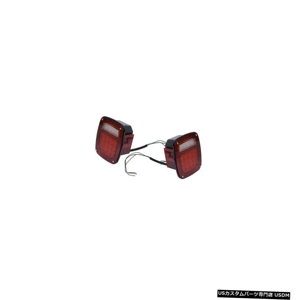 <title>車用品 バイク用品 >> パーツ ライト ランプ ブレーキ テールランプ Tail light 頑丈なリッジ12403.85 76-06ジープCJ ラングラー用テールライトキットLED Rugged Ridge 12403.85 Light Kit LED いつでも送料無料 For 76-06 Jeep CJ Wrangler</title>