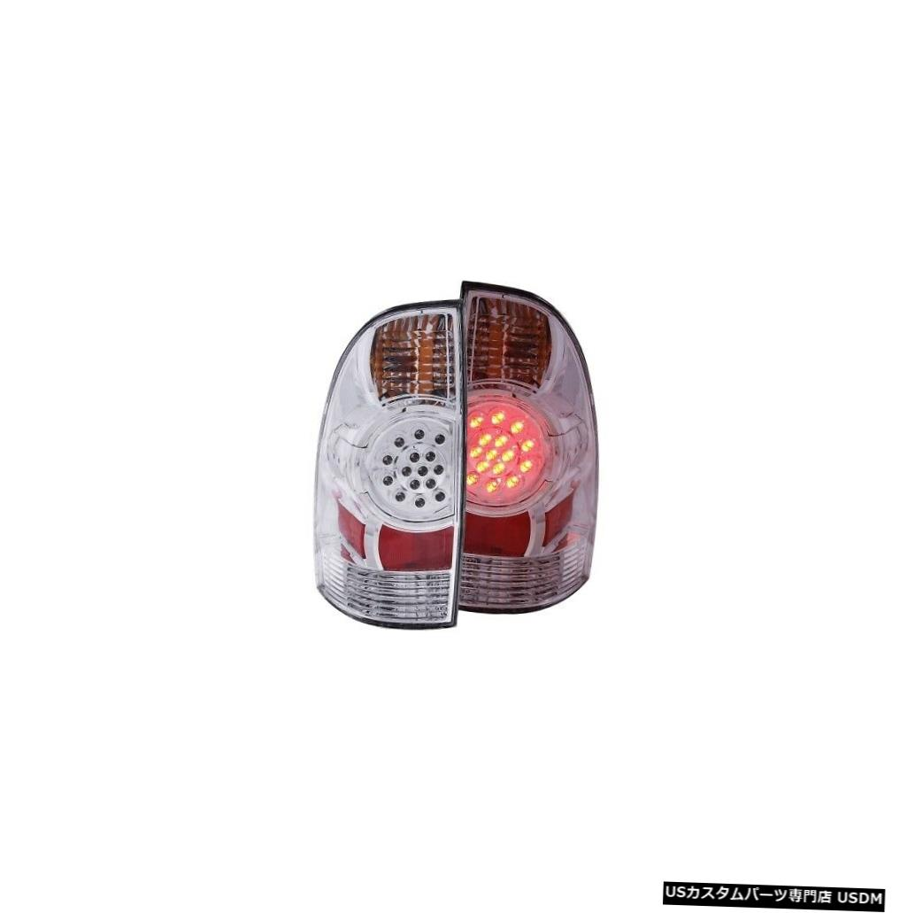 Tail light Anzo 311041 05-15トヨタタコマ用テールライトアセンブリLEDクリアレンズNEW Anzo 311041 Tail Light Assembly LED Clear Lens For 05-15 Toyota Tacoma NEW