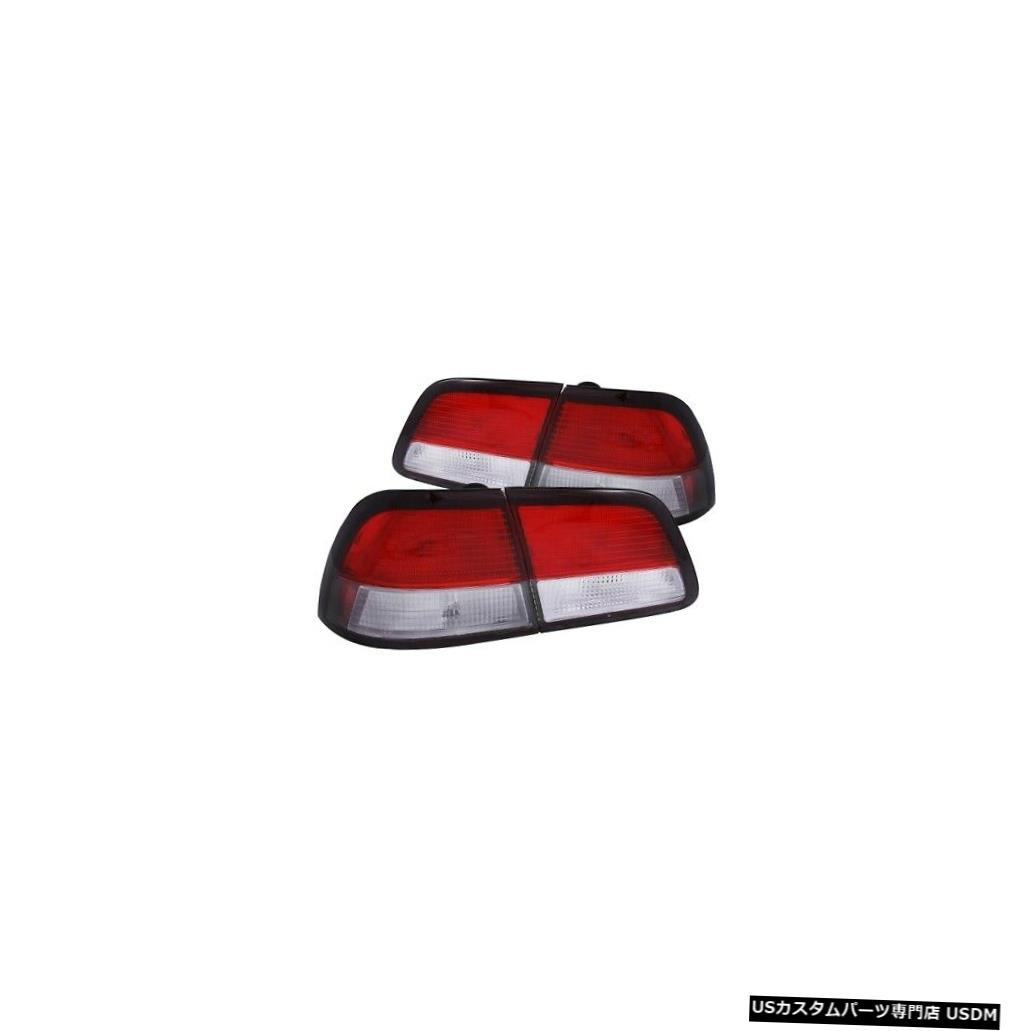 Tail light Anzo 221136テールライトアセンブリLED赤/クリアレンズ4個(97?99 Maxima用)NEW Anzo 221136 Tail Light Assembly LED Red/Clear Lens 4pc For 97-99 Maxima NEW