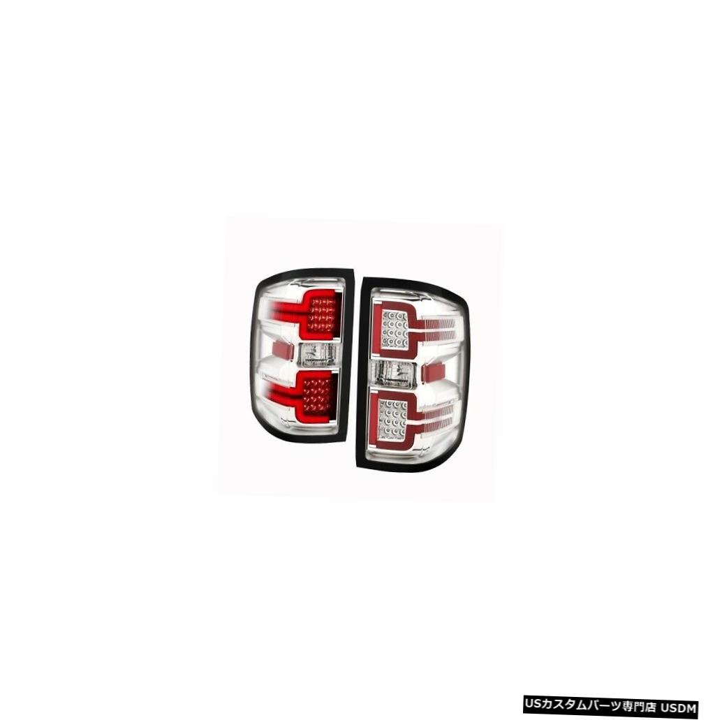 Tail light Anzo 311291 14-18 Silverado 3500 HD用テールライトアセンブリLEDクロームレンズNEW Anzo 311291 Tail Light Assembly LED Chrome Lens For 14-18 Silverado 3500 HD NEW