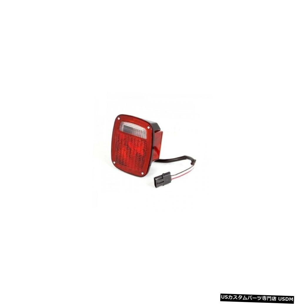 Tail light OMIX ADA INC 12403.48 98-06ジープラングラーTJのテールライトライトブラックハウジング OMIX ADA INC 12403.48 Tail Light Right Black Housing For 98-06 Jeep Wrangler TJ