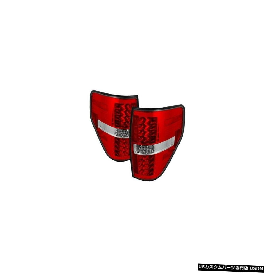 Tail light スパイダー5008534 LEDテールライトブラック2009-2014 Ford F-150 2pc NEW Spyder 5008534 LED Tail Lights Black For 2009-2014 Ford F-150 2pc NEW