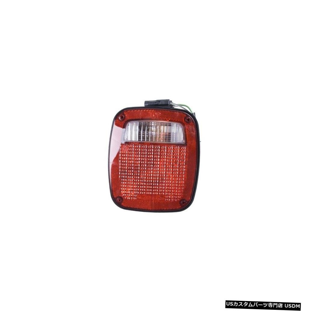 Tail light OMIX ADA INC 12403.13 91-97ラングラーYJ / TJ用テールライトアセンブリ左ブラック OMIX ADA INC 12403.13 Tail Light Assembly Left Black For 91-97 Wrangler YJ/TJ